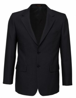 BC Mens Cool Stretch Pinstripe 2 Button Jacket 80211 2