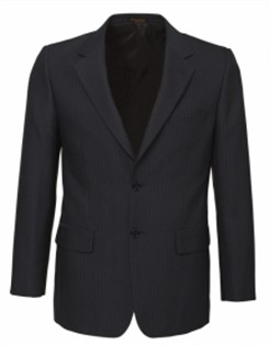 BC Mens Cool Stretch Pinstripe 2 Button Jacket 80211 3