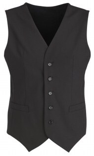BC Mens Wool Stretch Vest with Knitted Back 94011 4