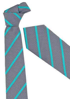 BC Mens Single Contrast Stripe Tie 99102 4