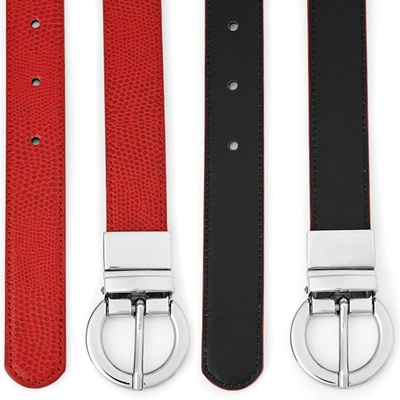 BC Ladies Leather Reversible Belt 99200 4