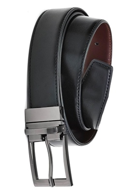 BC Mens Leather Reversible Belt 99300 2