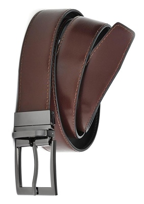 BC Mens Leather Reversible Belt 99300 3