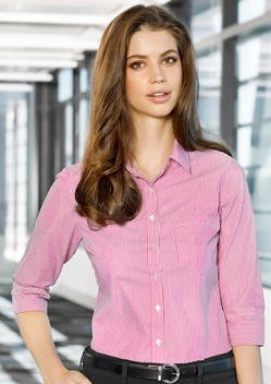 Adv Lindsey Ladies 3/4 Sleeve Shirt A41011