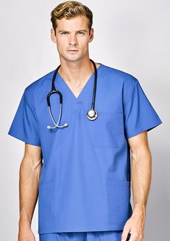 Adv Johnson Unisex Scrub Top A59000