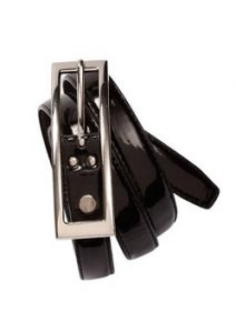 Biz Ladies Semi-Patent Belt BB10920