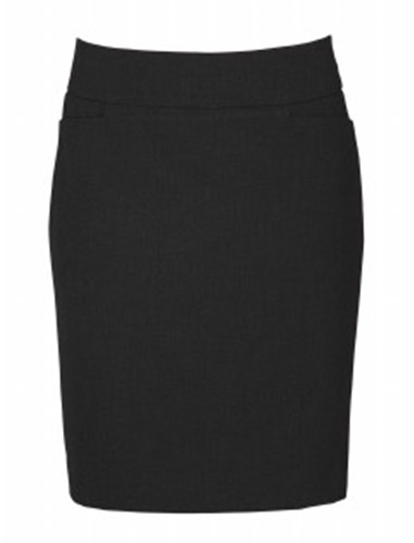 Biz Classic Ladies Knee Length Skirt BS128LS 4