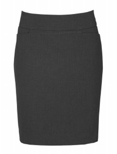 Biz Classic Ladies Knee Length Skirt BS128LS 3