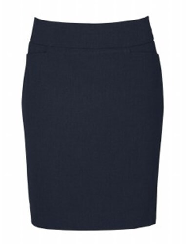 Biz Classic Ladies Knee Length Skirt BS128LS 2