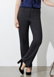 Biz Classic Ladies Flat Front Tailored Pant BS29320