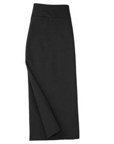 Biz Classic Ladies Below Knee Skirt BS29323 2
