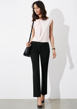Biz Perfect Ladies Kate Pant BS507L 1