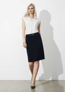 Biz Loren Ladies Separates Stretch Skirt BS734L