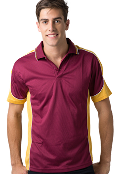 BS Contrast Polo Mens BSP15 1