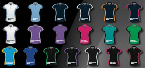 BS Contrast Polo Ladies BSP15L 2