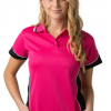 BS Contrast Polo Ladies BSP15L