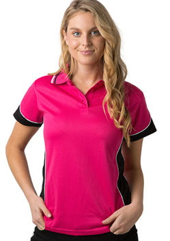 BS Contrast Polo Ladies BSP15L 1