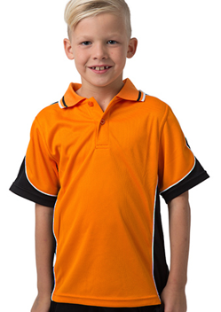 BS Contrast Polo Kids BSP16K