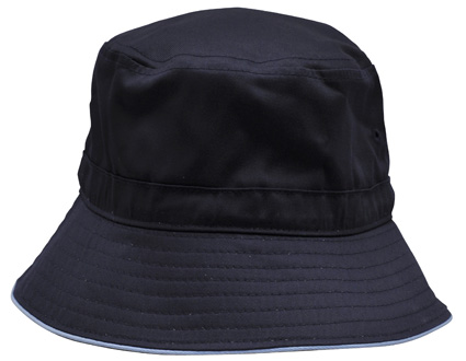 WS Sandwich Bucket Hat with Toggle H1033 6