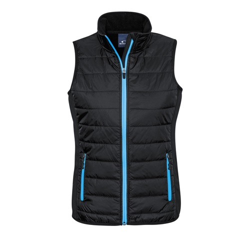 Biz Stealth Ladies Hybrid Quilted Vest J616L 4