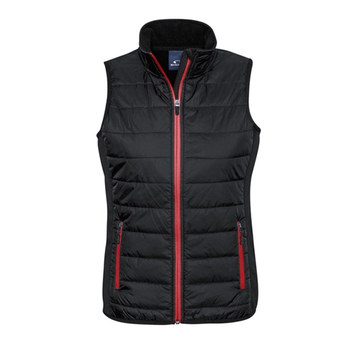 Biz Stealth Ladies Hybrid Quilted Vest J616L 5