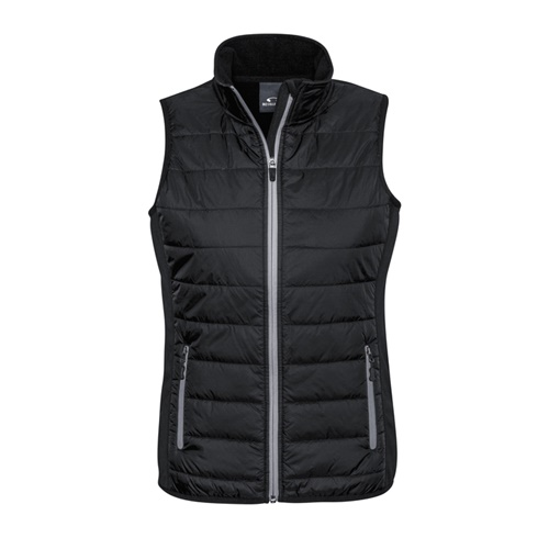 Biz Stealth Ladies Hybrid Quilted Vest J616L 3