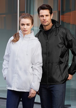 Biz Spinnaker Light Showerproof Unisex Jacket J833 1