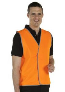 JB Hi Vis Safety Vest 6HVSV
