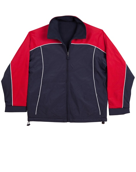 WS Cascade Mens Tri-Colour Contrast Reversible Jacket JK22 3