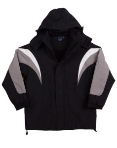 WS Bathurst Unisex Tri-Colour Jacket with Hood JK28 2