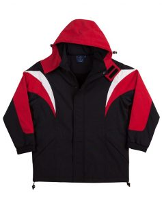 WS Bathurst Unisex Tri-Colour Jacket with Hood JK28 3