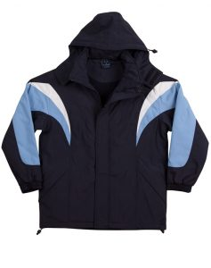 WS Bathurst Unisex Tri-Colour Jacket with Hood JK28 5