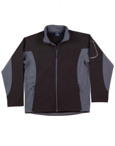 WS Whistler Mens Softshell Contrast Jacket JK31