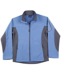 WS Whistler Mens Softshell Contrast Jacket JK31 4
