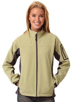 WS Whistler Ladies Softshell Contrast Jacket JK32 1