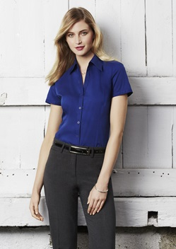 Biz Metro Ladies Short Sleeve Shirt LB7301