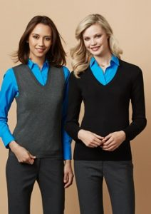 Biz V-Neck Ladies Pullover LP3506