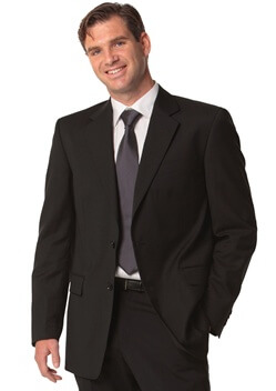 WS Mens Stretch Plain Jacket M9130