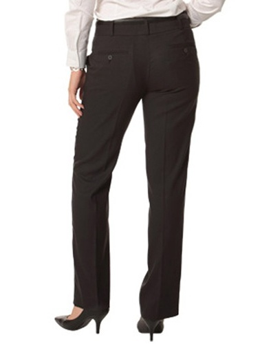 WS Ladies Stretch Plain Low Rise Pants M9420 5