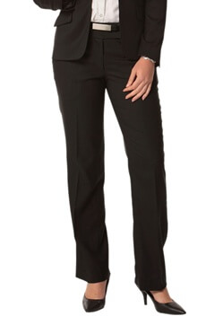 WS Ladies Stretch Plain Low Rise Pants M9420 1