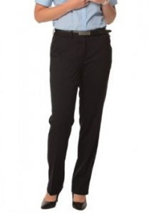 WS Ladies Stretch Plain Flexi Waist Pants M9440