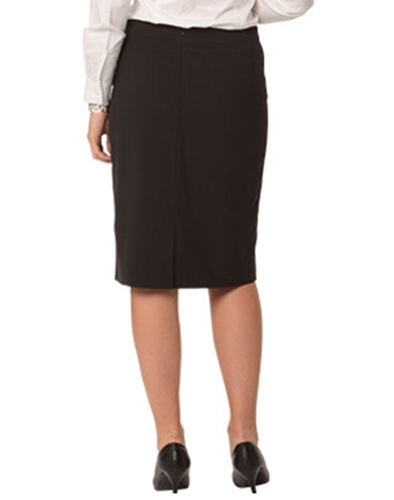 WS Ladies Stretch Stripe Pencil Skirt M9472 3
