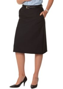 WS Ladies Stretch Plain Twill Utility Skirt M9478