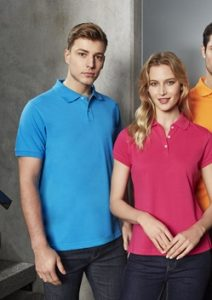 Biz Neon Mens Polo P2100