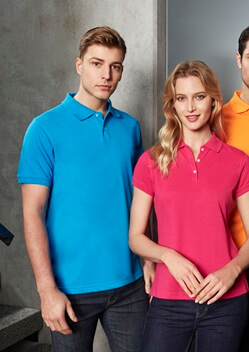 Biz Neon Mens Polo P2100 1