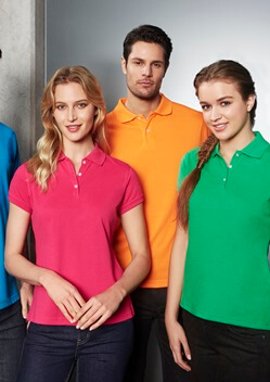 Biz Neon Ladies Polo P2125