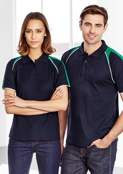 Biz Triton Cotton-Backed Ladies Polo P225LS