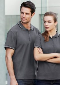Biz Cambridge Cotton-Backed Mens Polo P227MS