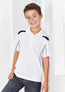 Biz United Kids Short Sleeve Polo P244KS