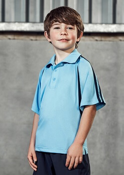 Biz Flash Kids Snag Resistent Short Sleeve Polo P3010B 1